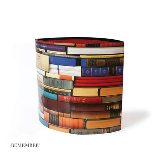 * »Leseratte« Papierkorb von Remember Products