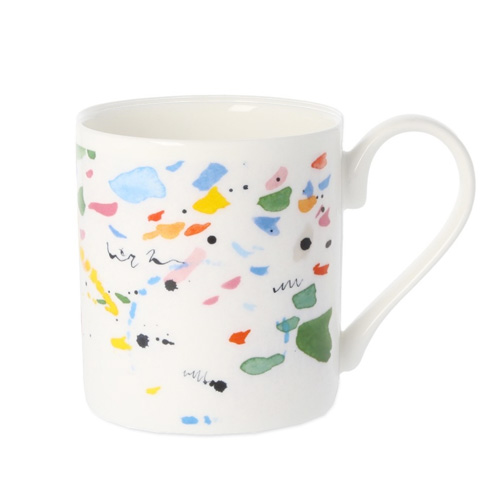 *   Fine Bone China Becher »Wasserfarben« - Design Madeleine Floyd