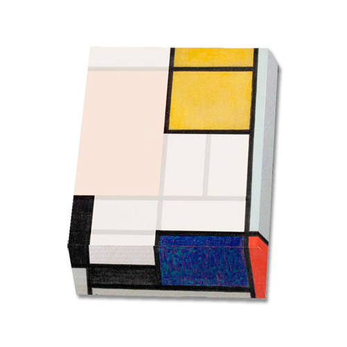 Notizblock MONDRIAN »Komposition«