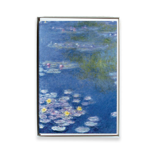 *  Briefkartenbox CLAUDE MONET