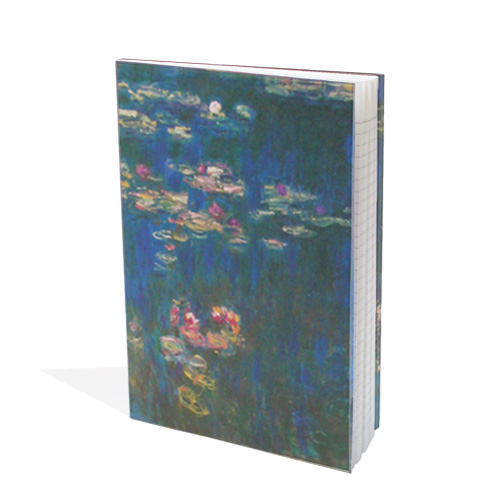 *  Notizbuch MONET »Seerosen«