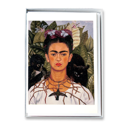 *  Briefkartenbox Frida Kahlo mit 6 Motiven