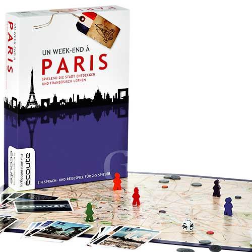 Reisespiel Un Week End A Paris