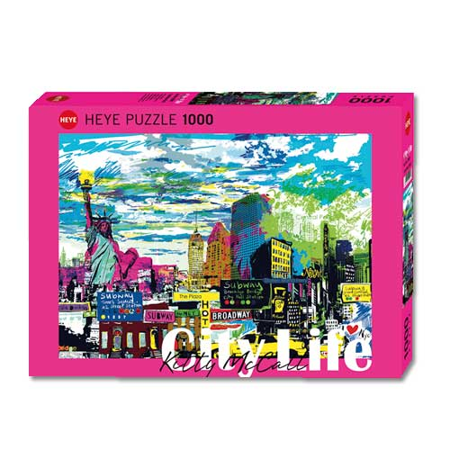 *  »I LOVE NEW YORK« Puzzle (1000 Teile)