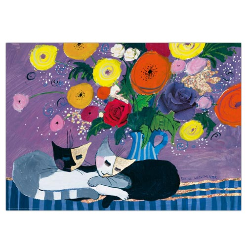 *    Puzzle SLEEP WELL - Design: Rosina Wachtmeister (1000 Teile)