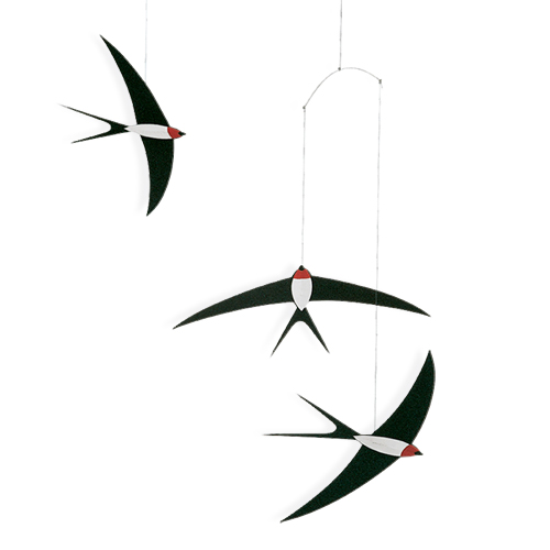 *   Flensted Mobile - FLYING SWALLOWS | SCHWALBEN IM FLUG