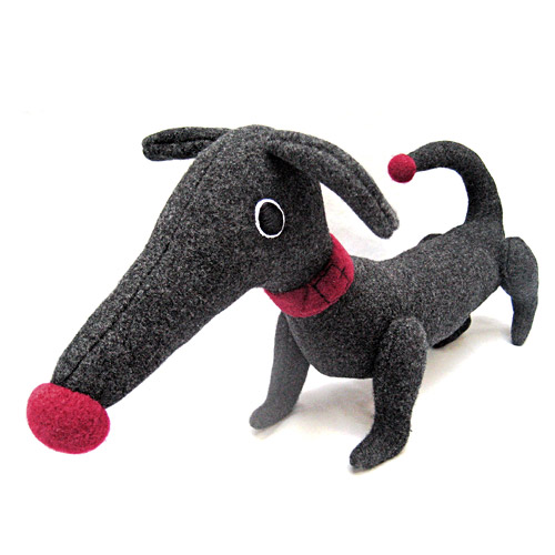*   Stofftier Dachshund - Design Vicky Light (Handarbeit)