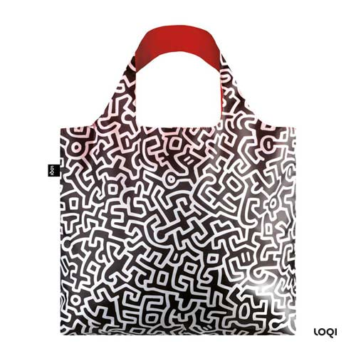 *  KEITH HARING-Tasche »untitled« - LOQI Museumskollektion