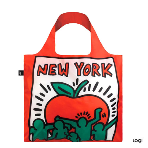 *  KEITH HARING-Tasche »New York« - LOQI Museumskollektion
