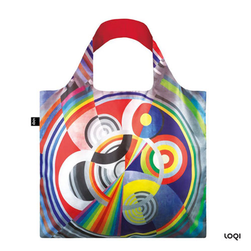 *   Tasche ROBERT DELAUNAY »Rhythm No1, 1938« - LOQI Bag Museumskollektion