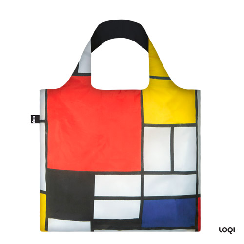 *  Tasche PIET MONDRIAN »Komposition« - LOQI Bag Museumskollektion