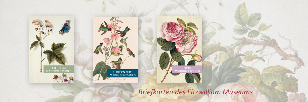 Briefkarten des Fitzwilliam Museums - bei museumsart