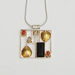 Silberanhänger »Wiener Inspiration« mit Silberkette »