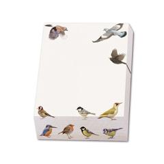 Notizblock Gartenvögel - Design Elwin van der Kolk »