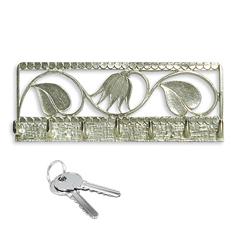 Schlüsselbrett im Jugendstil (Handarbeit aus poliertem Zinn) »