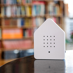 Zwitscherbox - das Original in Weiss »