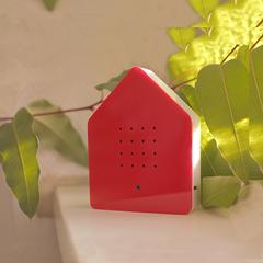 Zwitscherbox - das Original in Rot »
