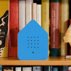 Zwitscherbox - das Original in Blau »