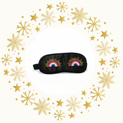 Schlafbrille Französische Kokarde