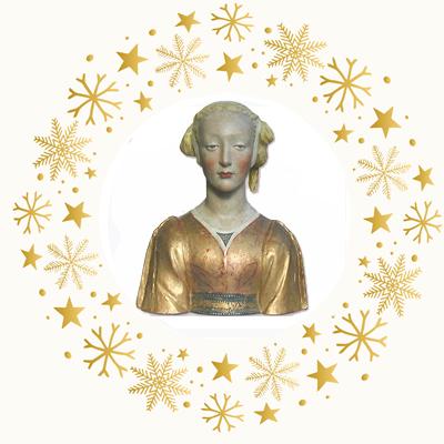 Büste der Belle Florentine - Gipsplastik Atelier de Moulage du Louvre