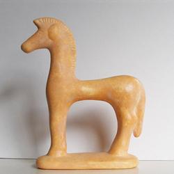 Terrakotta-Replik »Kleines Pferd« »