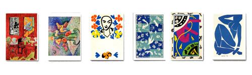 Briefkartenbox Henri Matisse mit 6 Motiven »
