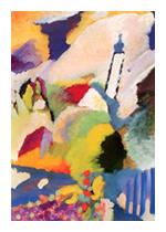 Briefkartenbox »Der Blaue Reiter« mit 6 Motiven