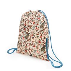 Backpack »Pfau mit Päonienzweig« von LOQI