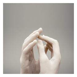 Auguste Rodin, Miniatur »Die Kathedrale« - Museumsreplikat Musée Rodin