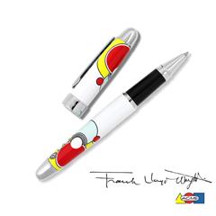 ACME Tintenroller IMPERIAL WHITE - Design Frank Lloyd Wright